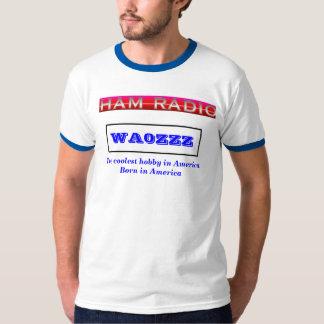 SKINKA radiosände kallast i Amerika Tröja