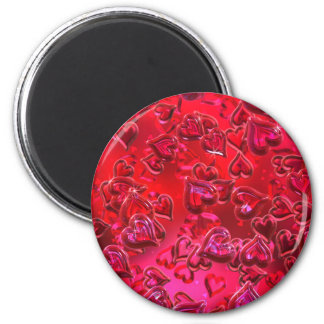 Skins röda hjärtor magnet