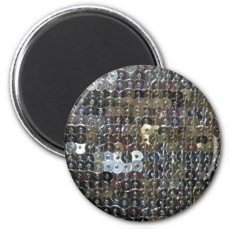 Skins silverSequins Magnet