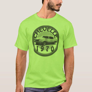 Skjorta 1970 för Chevelle muskelbil Tshirts