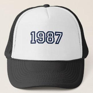 skjorta 1987 för födelseår T Truckerkeps