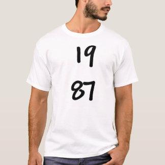 skjorta 1987 tee shirt