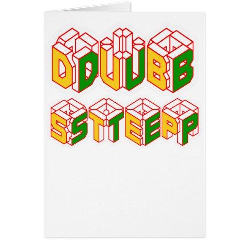 skjorta för 3D Dubstep Kort
