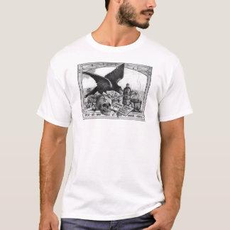 Skjorta för alkemilaboratoriumutslagsplats t shirt