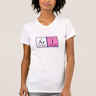 Skjorta för Ari periodisk bordnamn T Shirts