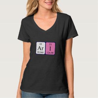 Skjorta för Ari periodisk bordnamn Tröjor