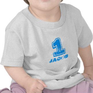 Skjorta för Babys 1st födelsedag t för en årig poj T-shirts