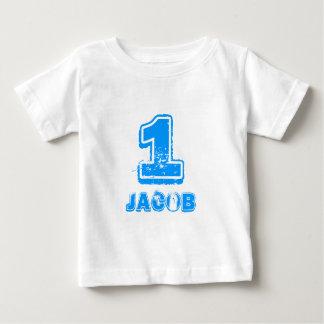 Skjorta för Babys 1st födelsedag t för en årig Tshirts