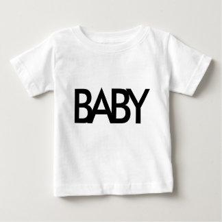 Skjorta för BABYtextsmåbarn för babyar T-shirts
