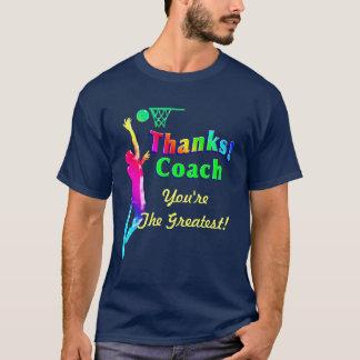 Skjorta för baskettränaretackring tee shirts