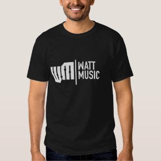 Skjorta för befordran T för wattmusik T Shirts