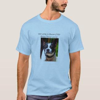 Skjorta för Boston terrier t T-shirt