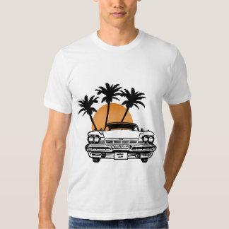 Skjorta för Cadillac bilsolnedgång T T-shirts
