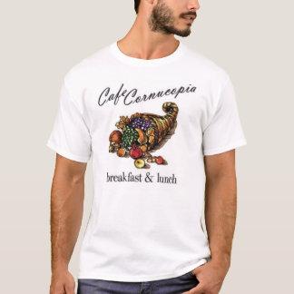 Skjorta för Cafeymnighetshornutslagsplats T Shirts