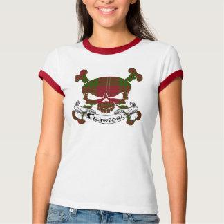 Skjorta för Crawford Tartanskalle T Shirts
