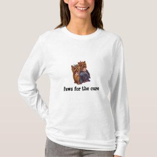Skjorta för damer för bröstcancer för Yorkshire Tröja