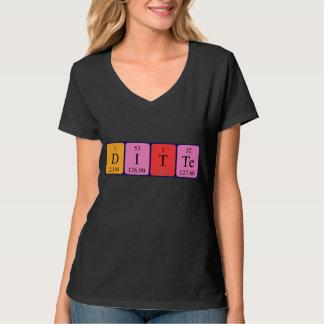 Skjorta för Ditte periodisk bordnamn Tröja