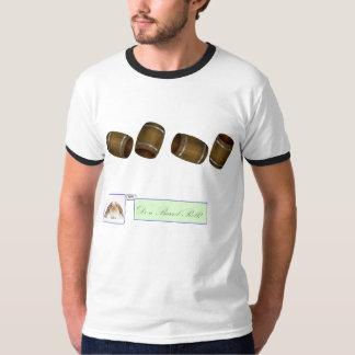Skjorta för dobbel för trummarulle Retro Tee