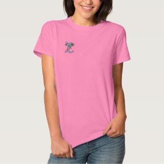 Skjorta för fjäril för brev Z Monogrammed broderad Broderad Pikétröja