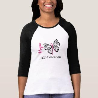 Skjorta för fjäril för EDS-hoppmedvetenhet Tee Shirts