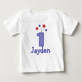 Skjorta för födelsedag för anpassadesmällare tröjor