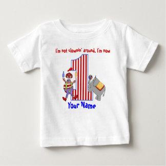 Skjorta för födelsedag för Cirus clown 1st Tshirts