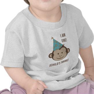 Skjorta för födelsedagapaansikte tröjor