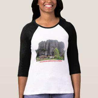 skjorta för foto för yaanakarnataka india turist- t-shirts