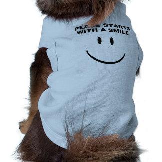 Skjorta för fredleendehusdjur husdjurströja