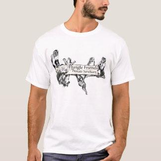 Skjorta för fristad för djungelvänprimat t-shirt