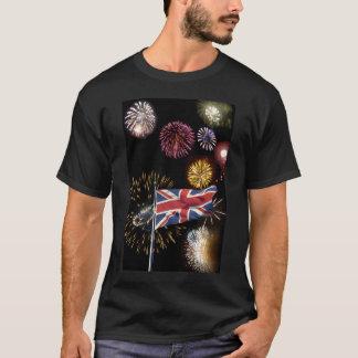 Skjorta för fyrverkerier för grabbFawkes natt Tee