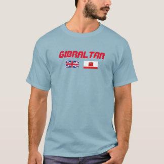 Skjorta för Gibraltar flaggaanpassningsbar Tee Shirts