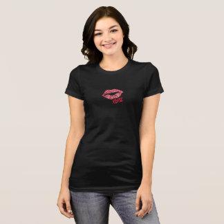 Skjorta för glitterläppar XOXO Tee Shirts