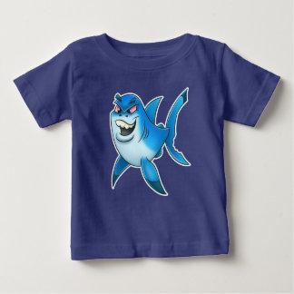 Skjorta för hajtecknadbebis tee shirts