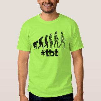 Skjorta för hashtag för evolution för t-shirts