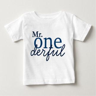 Skjorta för Herr Onederful baby T Tröja