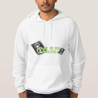 Skjorta för hip hop T Munkjacka