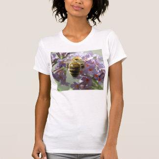 Skjorta för honeybee- och Buddleiablommor T Tröja