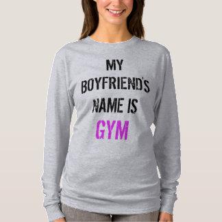 Skjorta för idrottshallgenomkörarelångärmad t-shirts