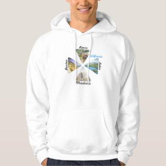 Skjorta för Kalifornien platsdesign Sweatshirt
