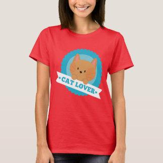 Skjorta för kattälskareroligt t shirt