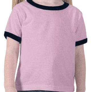 Skjorta för konstnärflickastaffli t-shirts