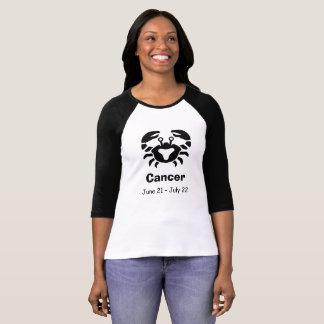 Skjorta för krabba för cancer för t shirt