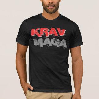 Skjorta för KRAV MAGA, fri kurs Tee Shirt