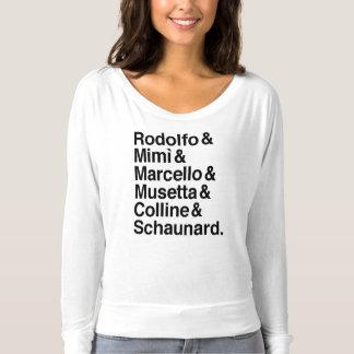 Skjorta för LaBohème tecken Tröja