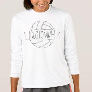Skjorta för lag för text för vanlig tee shirt
