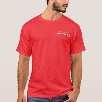 Skjorta för logotyp för högtalarestad fick- tshirts