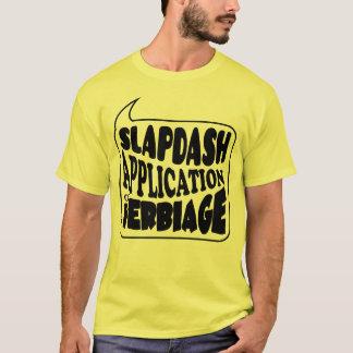 Skjorta för logotyp för smällApp-Verb T-shirt