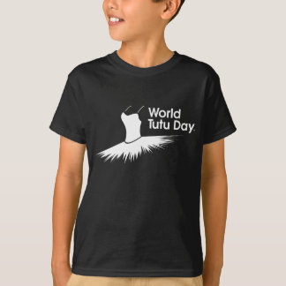 Skjorta för logotyp T för världsTutudag Tröja