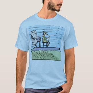 Skjorta för luftfartygtecknad tee shirt